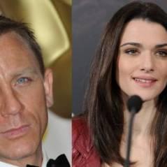 Daniel Craig ... grillé main dans la main avec Rachel Weisz