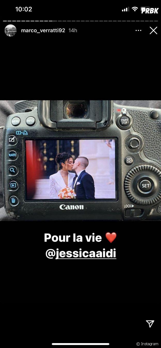 Marco Verratti et Jessica Aidi mariés : voici des photos de la cérémonie