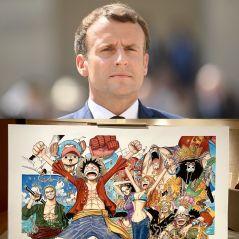 One Piece, Akira, Fairy Tail... Emmanuel Macron fan de mangas au Japon, les Internautes divisés