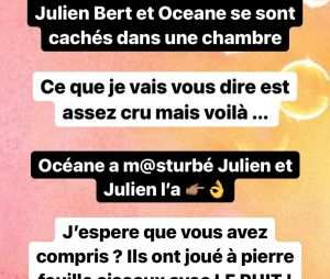 Julien Bert et Hilona séparés ? Il aurait couché avec Océane El Himer sans le dire à Hilona