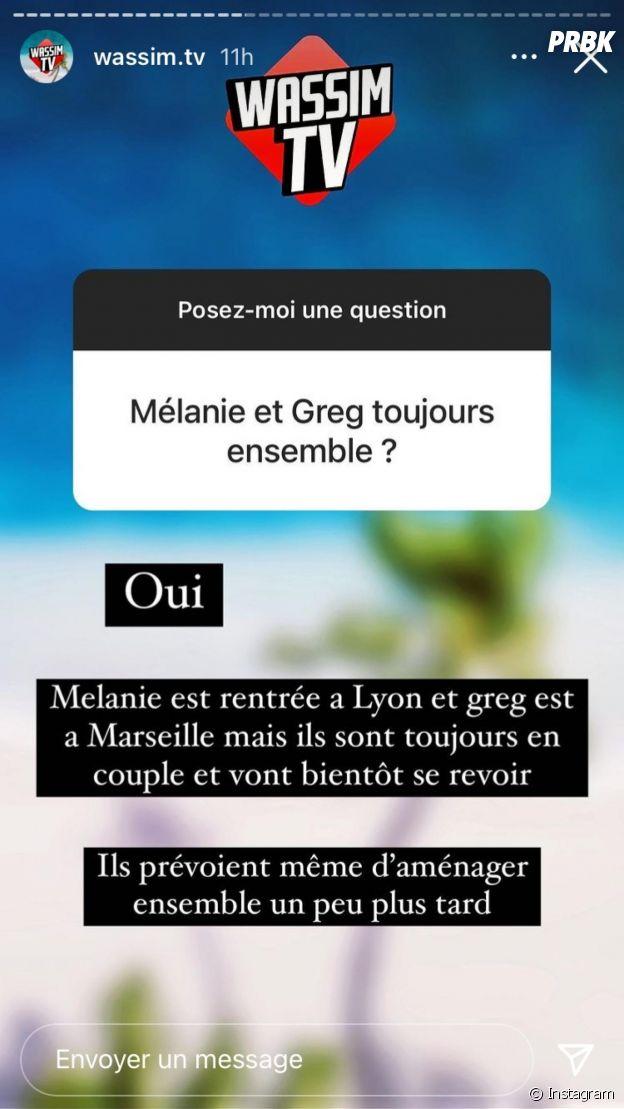 Les Marseillais VS Le Reste du Monde 6 : Mélanie Orl et Greg Yega en couple, ils officialisent et se déclarent leur amour