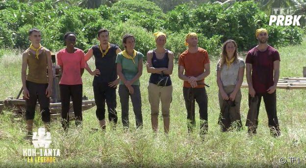 Koh Lanta, La Légende : l'équipe jaune