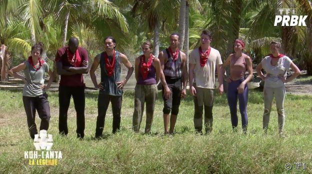 Koh Lanta, La Légene : l'équipe rouge