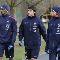 Equipe de France ... PHOTOS ... les bleus s'entraînent avant le Brésil demain