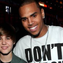 Chris Brown ... Justin  Bieber  ''me rappelle moi quand j'étais plus jeune''