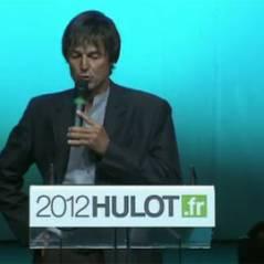 Nicolas Hulot : ''j'ai donc décidé d'être candidat à l'éléction présidentielle'' en 2012