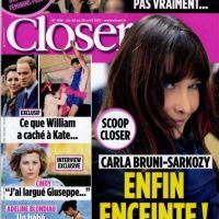 Carla Bruni-Sarkozy enceinte : elle confirme enfin sa grossesse, mais ne connait pas le sexe