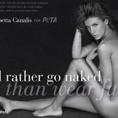 Elisabetta Canalis nue pour Peta (PHOTOS et VIDEOS) ... Elle va vous faire détester la fourrure