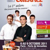 Le Salon ''Cuisinez avec M6'' en octobre 2011 à Paris