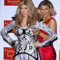 Fergie et sa statue de cire ratée de Las Vegas : sourires crispés au RDV (PHOTOS)
