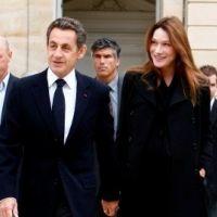 Nicolas Sarkozy papa et heureux ... mais président avant tout