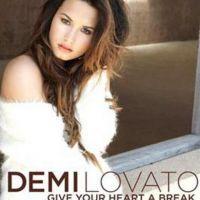 Demi Lovato se la joue douce et fragile sur la pochette de Give your heart a break (PHOTO)