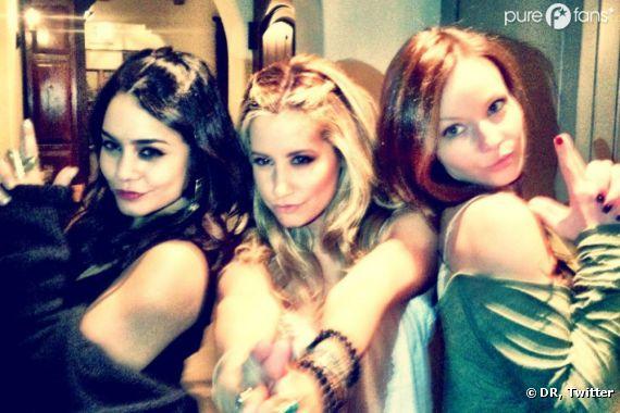 Vanessa Hudgens, Ashley Tisdale et une copine