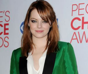 Emma Stone aux People's Choice Awards 2012
