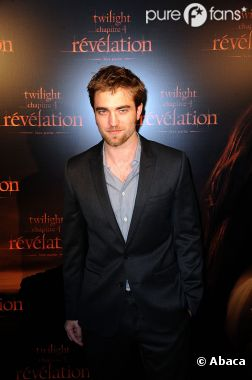 Robert Pattinson à Paris en novembre 2011