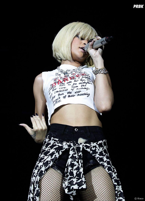 Rihanna en concert