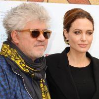 Angelina Jolie drague ouvertement Pedro Almodovar ... mais professionnellement hein !