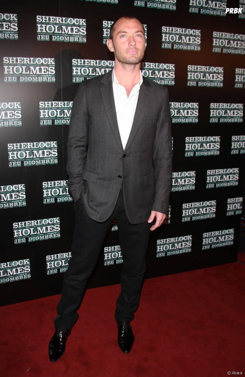 Jude Law sur le tapis rouge du Grand Rex