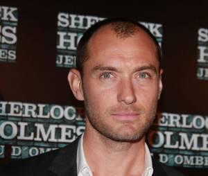 Jude Law à Paris pour l'avant-première de Sherlock Holmes 2