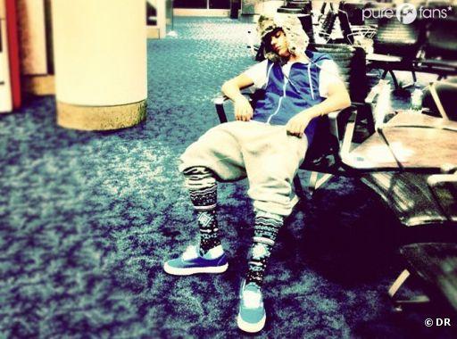 LE look horrible de Justin Bieber