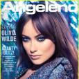 Olivia Wilde en couverture de Angelo Magazine
