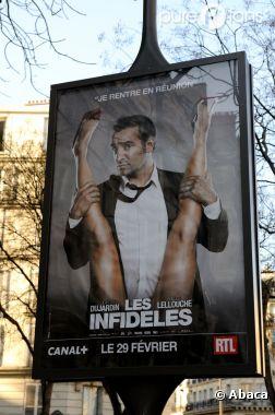 Les affiches du film Les Infidèles vont disparaître des rues
