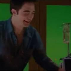 Robert Pattinson et Kristen Stewart morts de rire dans un bêtisier de Twilight (VIDEO)