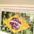 Voilà le mot que les fans de Selena Gomez lui ont laissé après son passage en Amérique du Sud