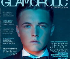 Jesse McCartney en couverture de Glamoholic
