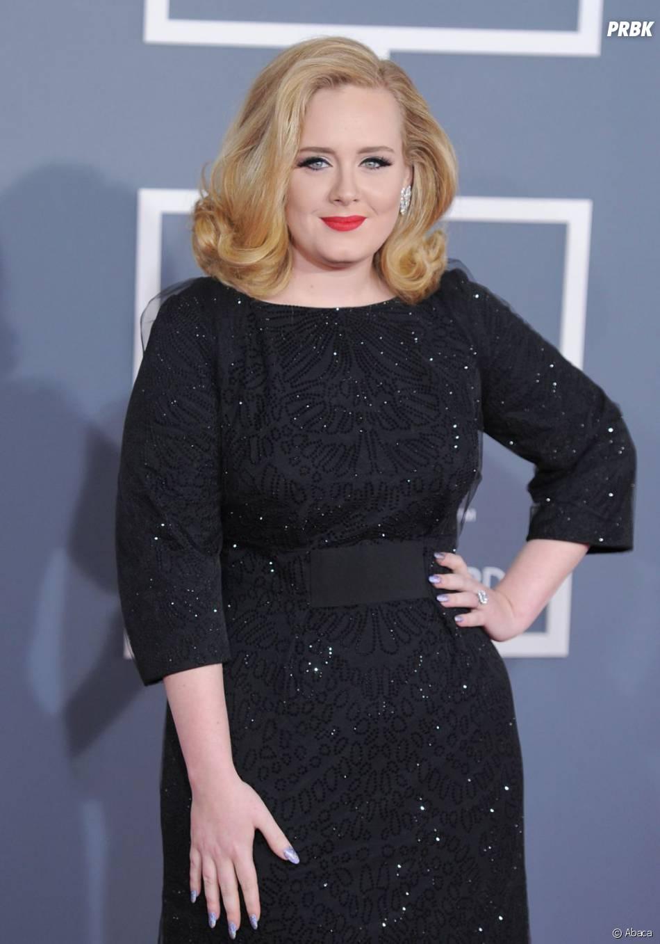 Adele est rayonnante