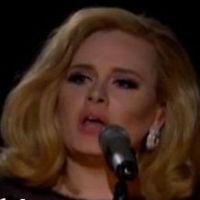 Adele  : Grammy 2012, méconnaissable pour Rolling in the Deep en live (VIDEO et PHOTOS)