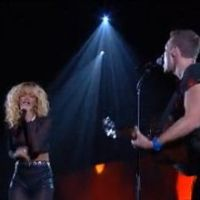 Grammy 2012 : Rihanna joue sa Princess of China sexy pour Coldplay (VIDEO)