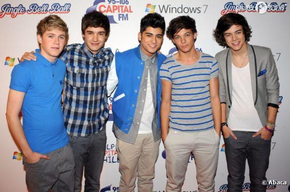 Les One Direction arrivent sur Purefans