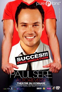 Paul Séré en spectacle dans Auto-Reverse