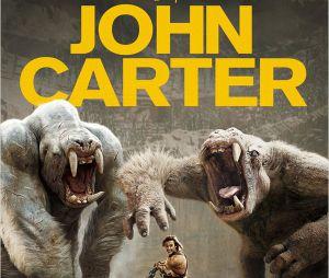 Affiche de John Carter, au cinéma le 7 mars 2012