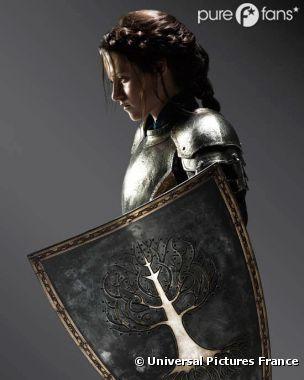 Kristen Stewart, fan de l'armure de Blanche-Neige