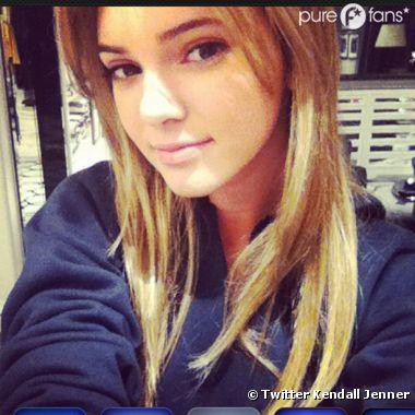 Kendall Jenner nous présente sa nouvelle coiffure