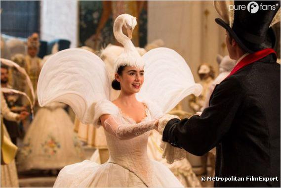 Lily Collins dans son rôle de Blanche Neige pour Mirror Mirror