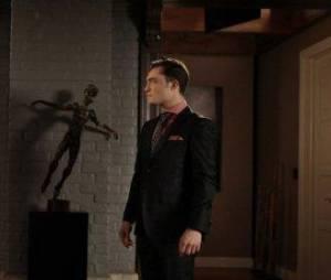 Ed Westwick et Liz Hurley dans l'épisode 20 de la saison 5 de Gossip Girl