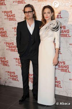 Brad Pitt et Angelina Jolie le couple glamour