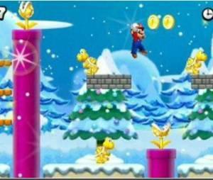 Des décors variés dans le New Super Mario Bros.2
