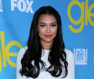 Naya Rivera alias Santana à la soirée Glee