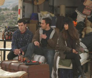 Nick avec Schmidt et CeCe