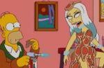 Lady Gaga étale sa viande chez les Simpson ! (VIDEO)
