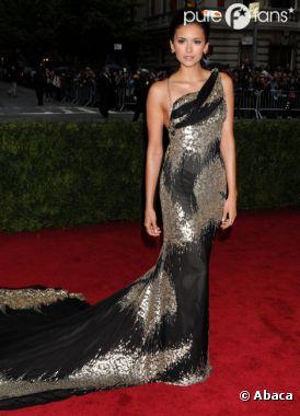 Nina Dobrev vs Lea Michele au Met