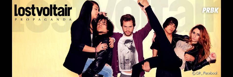 Lola, l'ex de Louis, et son groupe.