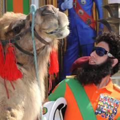 Sacha Baron Cohen : buzz à coup de chameau sur la Croisette pour The Dictator (PHOTOS)