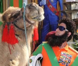 The Dictator et un chameau à Cannes !