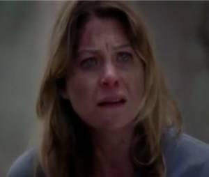 Meredith bouleversée
