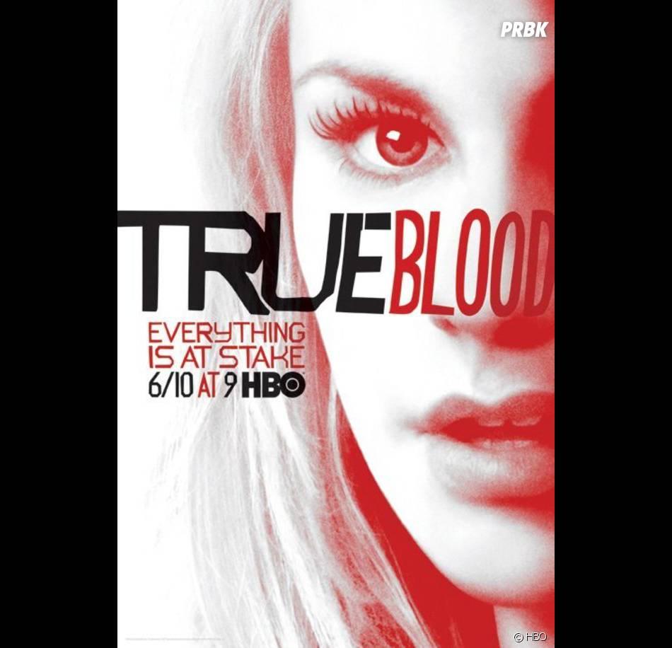Le poster de la saison 5 de True Blood version Sookie